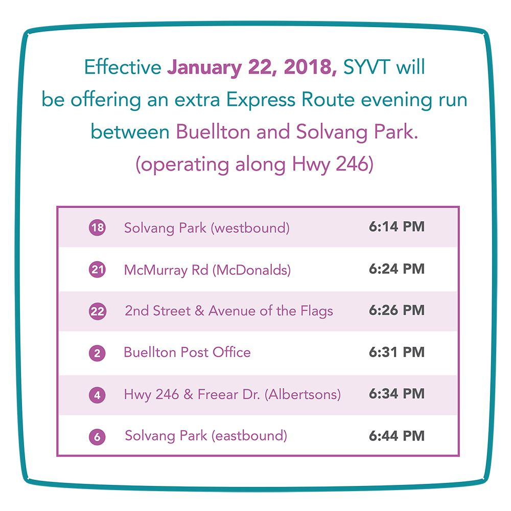 Extra Express Route Evening Service_web version_resize_300dpi